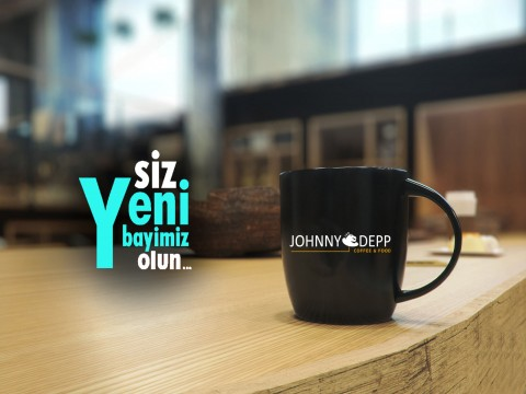 JOHNNY DEPP COFFEE  Bayilikler Veriyor